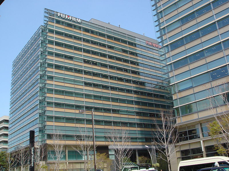 Image: Overview of Fujifilm's midtown west building in Tokyo, Japan. Photo: Courtesy of Mapio/Wikipedia.