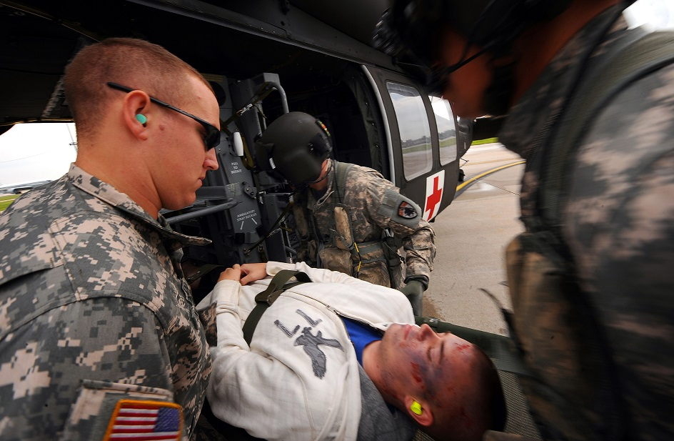 american medical response military
