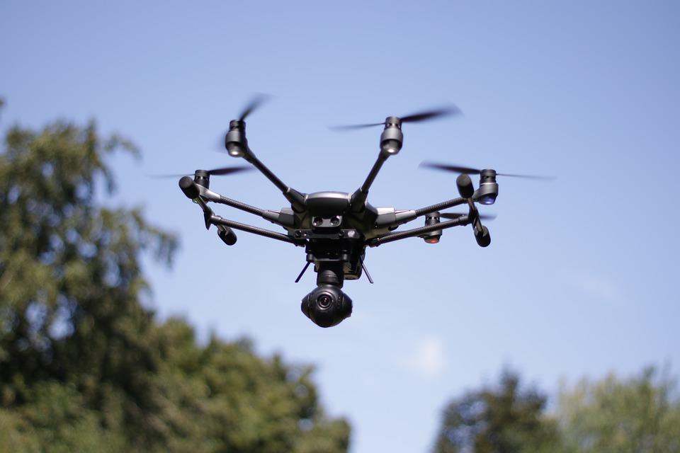 nhs future drones