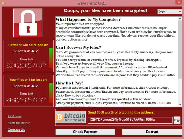 WannaCry cyber-attack