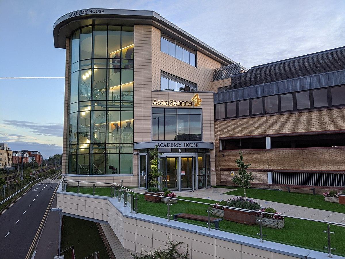 The AstraZeneca Corporate HQ in Cambridge, England. (Credit: D Wells/Wikipedia.)